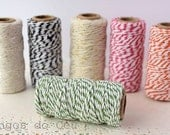 Baker's Twine, Light Green , 22 Yards, 20 meters. For your crafting projects. Ready to ship.