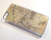 LOTR inspired Middle Earth map iPhone 5c case