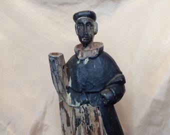 Wooden Santos Figure