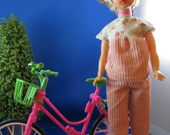 Leisure Ride Outfit for Tammy 1960s Pants ,Top and Scarf