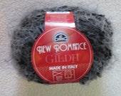 DMC New Romance Yarn Gilda Color No. 132 Black  Art. No. 443