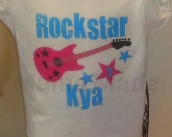 Rockstar Birthday Shirt or Bodysuit,girls birthday shirt,Rockstar birthday,girls Rockstar shirt,girls Rockstar birthday shirt,Rockstar tee