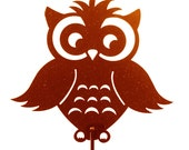 Hand Made Owl Copper Yard Art *NEW*