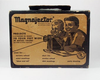 Vintage ©1960 Magnajector Projector by Rainbow Crafts