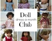 American Girl Doll Dress-a-Month Club