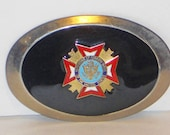 Vintage Veterans of Foreign Wars Buckle, Accessories
