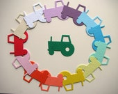 25 Seed Paper Tractors