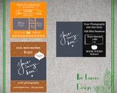 SALE Fall Mini Session Marketing template  set