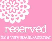 Custom Reserved Listing for Maayan