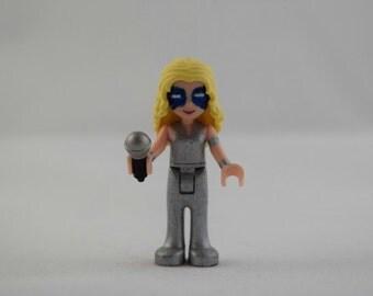 Custom LEGO Friends Marvel's Dazzler Minifigure