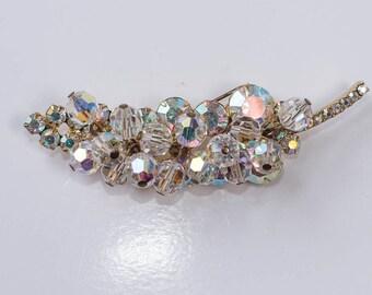 Juliana Rhinestone Brooch Rhinestones and Crystals Vintage Crystal Pin