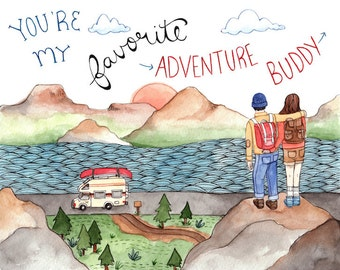 Adventure Buddy Print 8.5x11