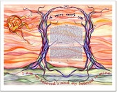 Ketubah: When We First Met
