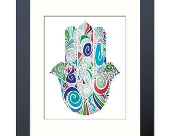Palm of Promise (Hamsa) III Fine Art Print