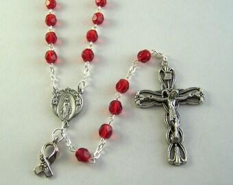 Cardiovascular Disease Congenital Heart Disease Congestive Heart Failure Supraventricular Tachycardia Awareness Rosary