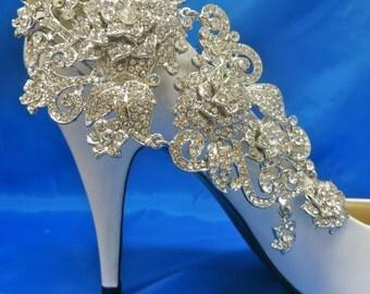 Rhinestone Wedding Shoes, Rhinestone Bridal Shoes, Crystal Wedding Shoes, Crystal Bridal Shoes, Wedding Bridal Shoes, Bridal Wedding Shoes