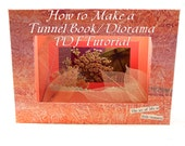 PDF Tutorial How to Make a Tunnel Book or Diorama - Papercraft, Bookbinding, Pattern