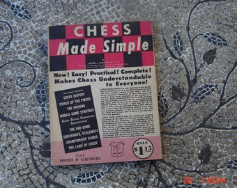 Chess Made Simple by Milton L. Hanauer - 1957