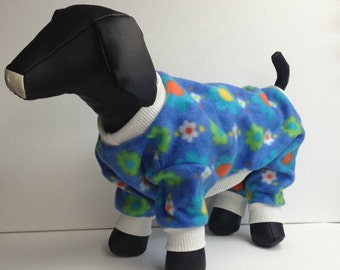 Dog Pajamas, Dog pjs, Cat Pajamas, Dog Coat, Dog Clothes, Dog Clothing, Dog Fleece Pjs,