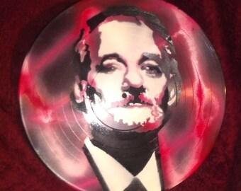 Bill Murray BFM Vinyl Record Painting