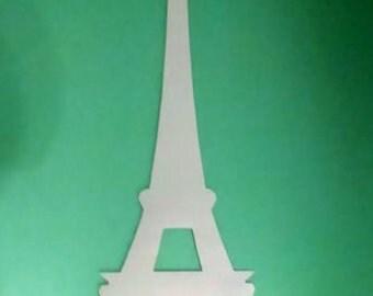 "18"" Eiffel tower silhouette"