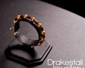 Gold Pearl & Garnet Brace...