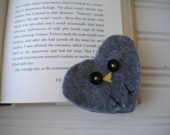 Heart Felt Owl Bookmark