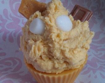 Smores Cupcake Candle