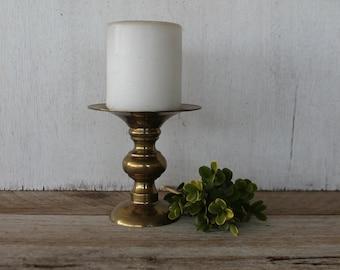 Vintage Brass Candleholder