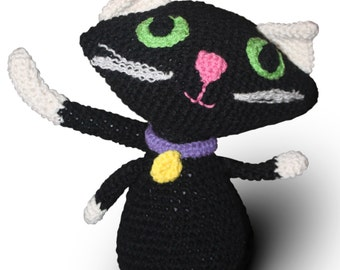 Crochet Stuffed Cat