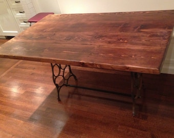Dining Table, Kitchen Table Reclaimed Wood- Free Shipping