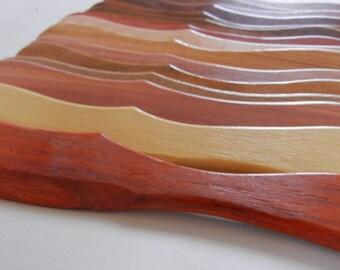 spreader wood pumpkin color