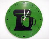 Kitchen Aid Clock Green Grass Time Piece