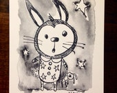 Blank, Hello, Miss You, Thinking Of You Card, Bedtime Bunny.