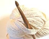 "Nam Oc Crochet Hook, size 7 (4.50 mm) --- one 6"" hook, sustainably made"