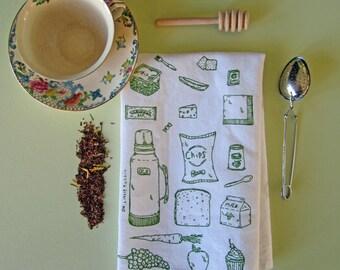 Cloth Napkins - Eco Friendly Dinner Napkins - Screen Printed Cloth Napkins - Handmade - Cotton Napkins - Table Setting - Lunch Napkins