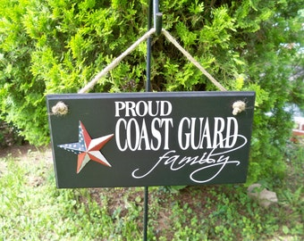 military sign, coast guard, coast guard sign, coast guard gifts, family sign, coast guard mom, coast guard party, signs, veteran