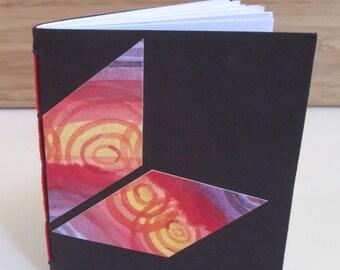 Small Blank Book - Abstract Diamonds