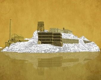 San Francisco Alcatraz Print