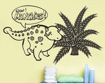 Vinyl Wall Art Decal Sticker Dinosaur Munchies OSDC688s