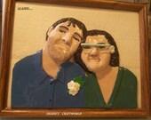 Custom made 3 D Clay Portrait for Stephanie