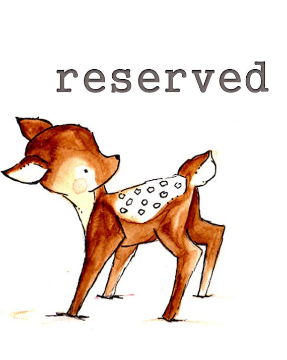 Reserved for Guy