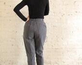 SALE // DENIM REPUBLIC Washed Grey Back-Pocketless Denim Pants