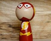The Flash Kokeshi Peg
