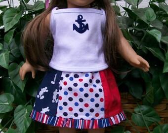 Nautical Skirt and Top