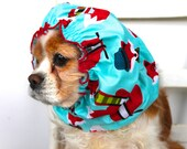 Dapper Fox Dog Snood - Long Ear Coverup - Cavalier King Charles or Cocker Snood