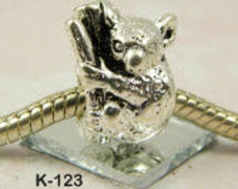 Kaola Bear-   European Big Hole Charm
