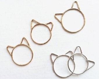 Choupette Kitten Ring