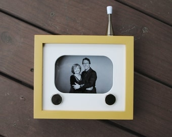 50s Inspired Custom TV Frame