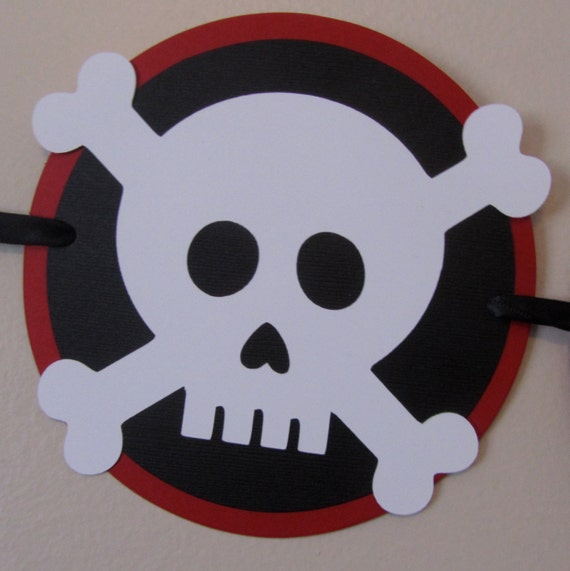 how to add a skull and crossbones to banners